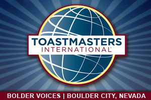 Toastmasters Club in Boulder City, Nevada
