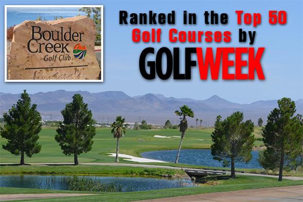 Boulder Creek Golf Course Ranked Top 50 in Golf Week