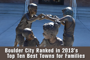 Boulder City Nevada Makes the Top Ten Towns For Families