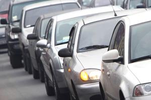 Traffic Jam in Boulder City, NV