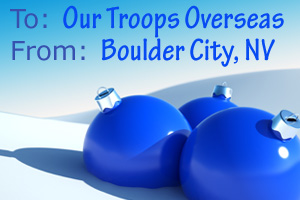 Holiday Packages for the Troops