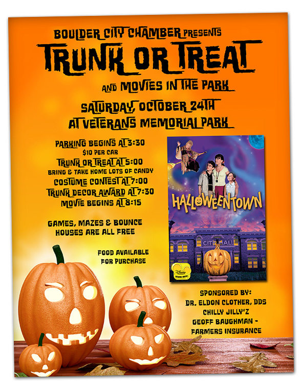 Trunk or Treat 2015 in Boulder City, Nevada
