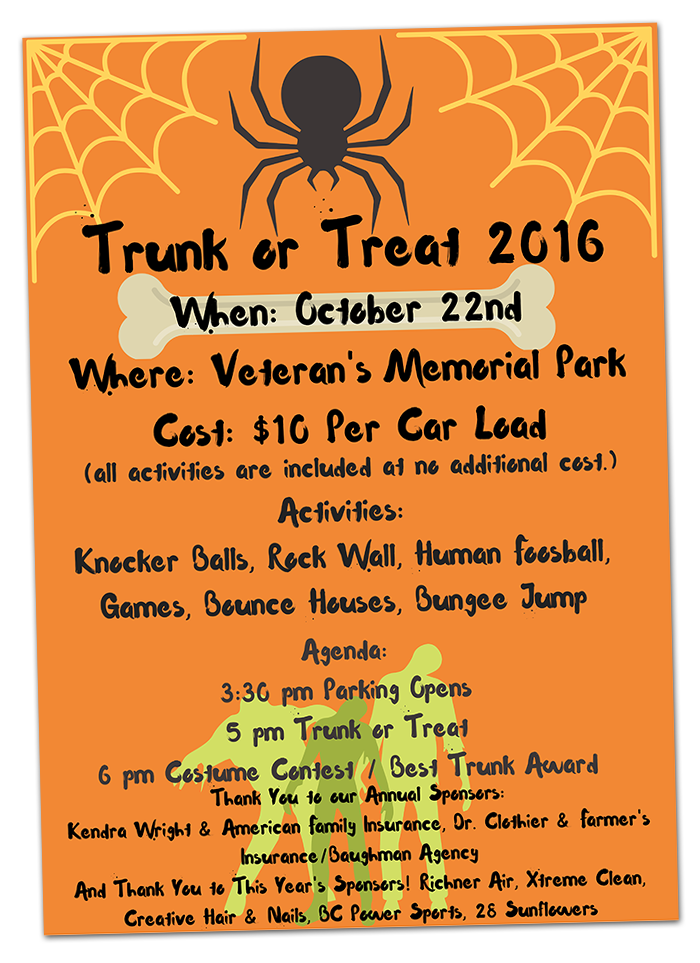 Trunk or Treat 2016 in Boulder City, Nevada