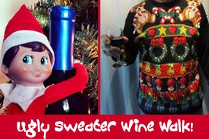 Ugly Sweater Best Dam Wine Walk in Boulder City, NV