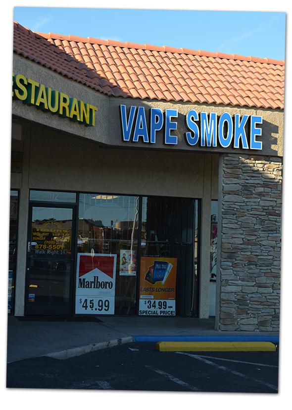 Vape Smoke in Boulder City, Nevada