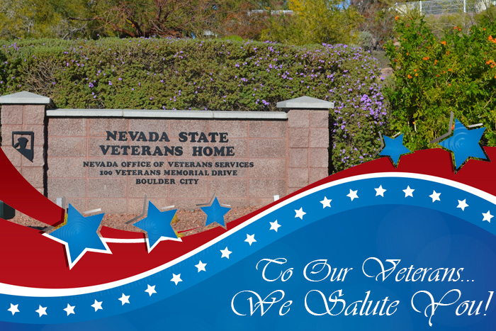 Nevada State Veterans Home in Boulder City, Nevada