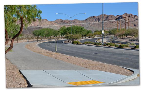 Veterans Memorial Drive in Boulder City, Nevada