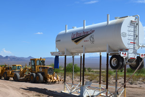 Veterans Memorial Drive Construction in Boulder City, Nevada
