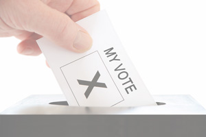 Vote in Boulder City, Nevada