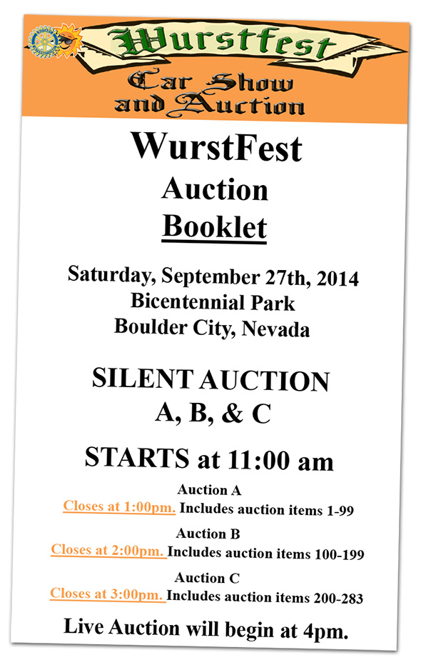 Wurstfest 2014 in Boulder City, Nevada