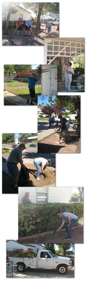 Yard Cleanup in Boulder City, NV