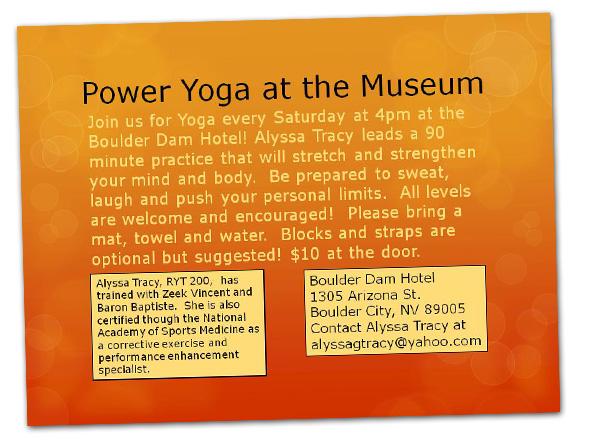 Yoga in Boulder City, NV