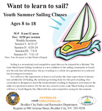 Boulder City Youth Summer Sailing Classes 2011