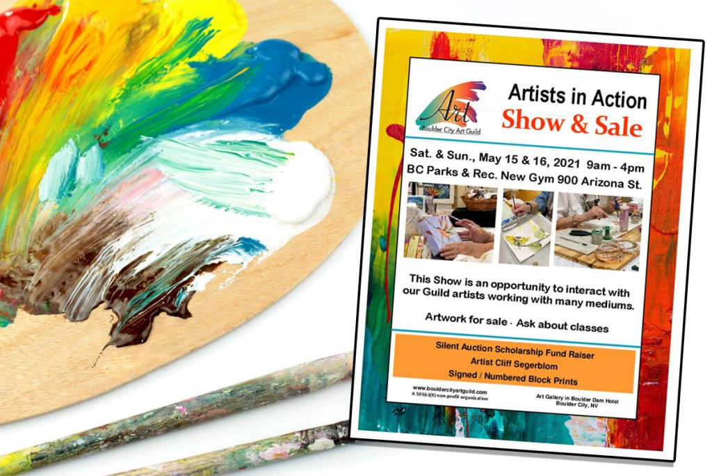 Artists In Action Event Boulder City, Nevada