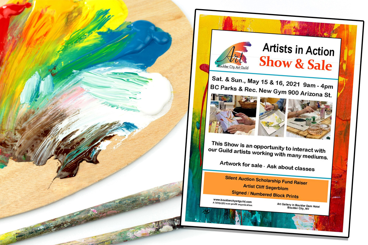 Artists In Action Event Ad Boulder City, NV