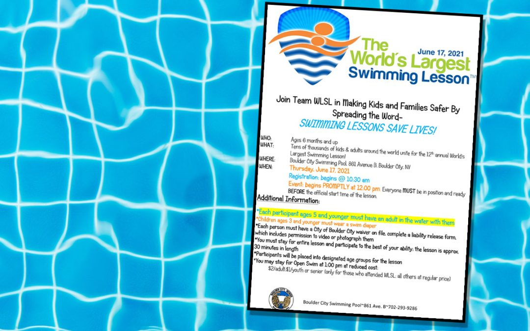 World's Largest Swimming Lesson Dives into Boulder City