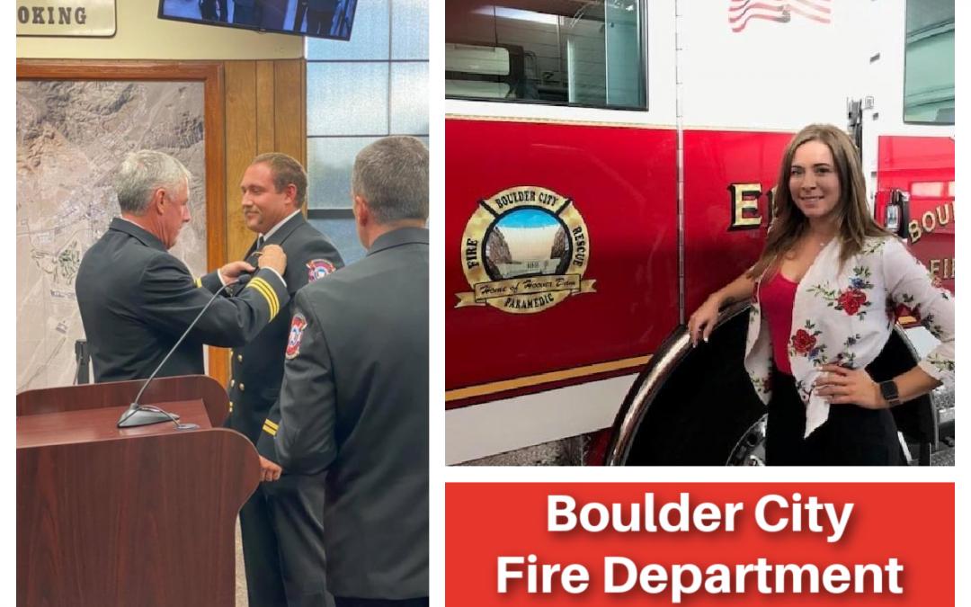 Personnel Updates at Boulder City Fire Department