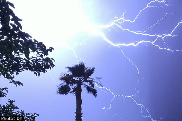 Fan Photo: Spectacular Storm by Bri