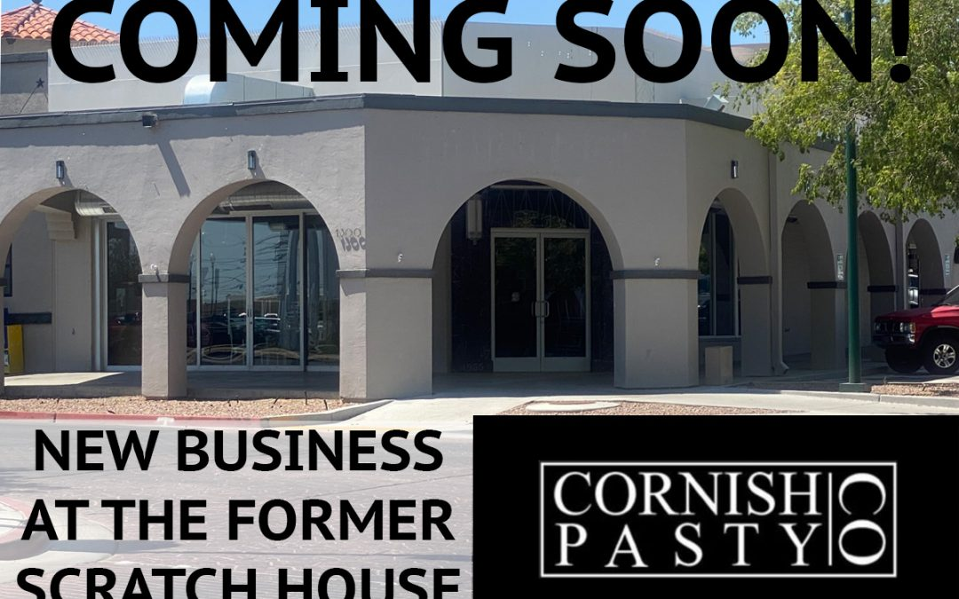 Boulder City Gets A New Business: The Cornish Pasty Co.