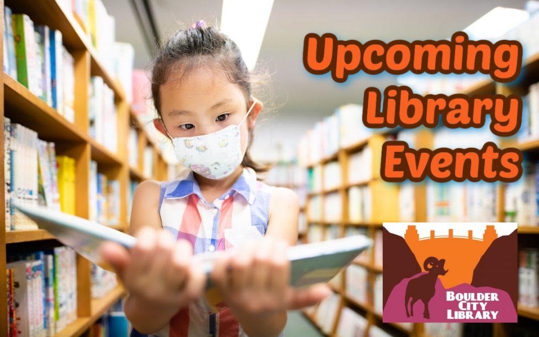 Boulder City Library Updates: September 2021