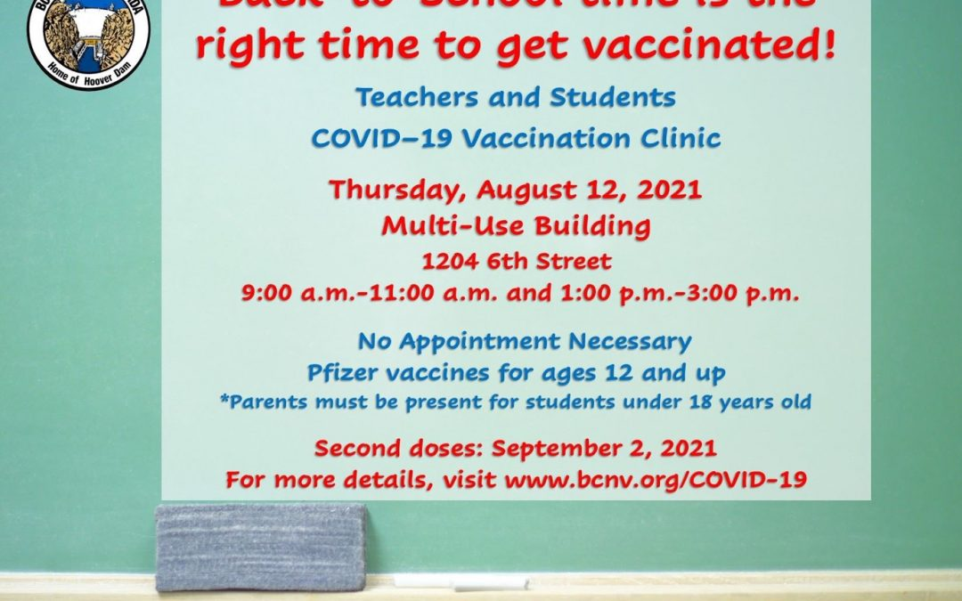 City Offers Pfizer Vaccination Clinic
