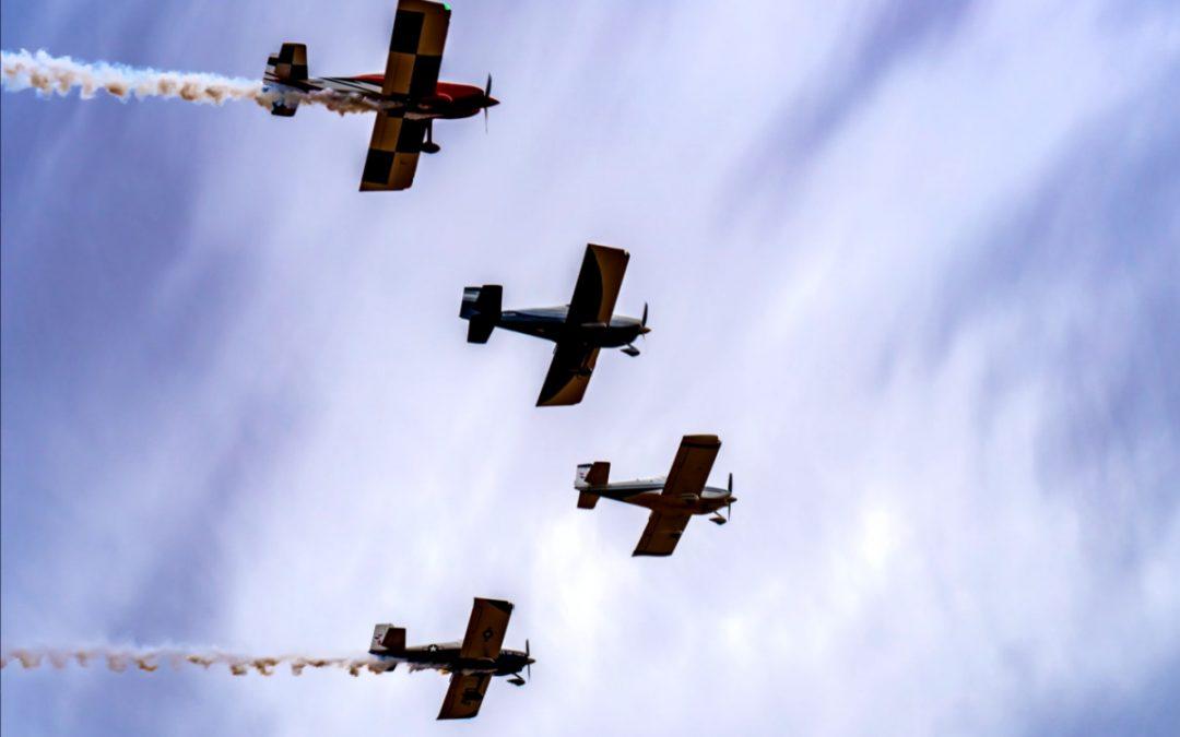 Missing Man Formation Flyover