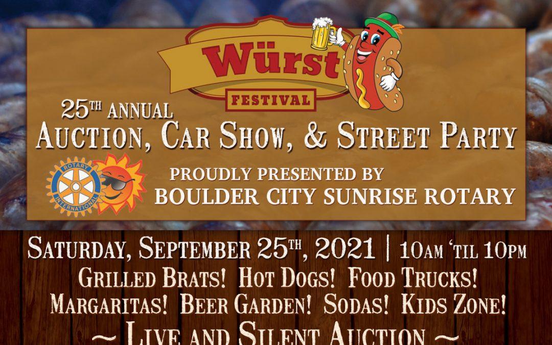 25th Annual Wurst Festival