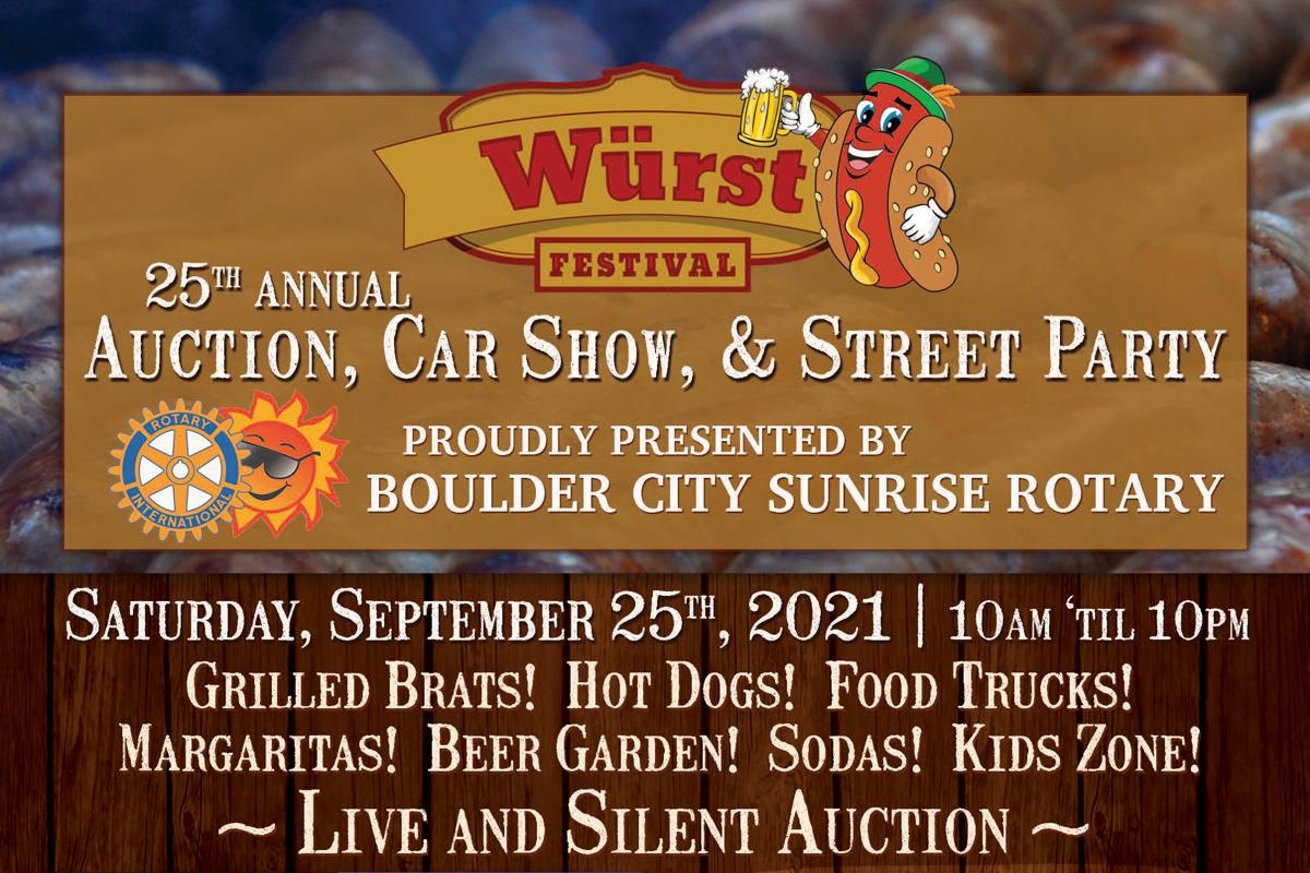 Wurst Festival Event Ad Boulder City, Nevada