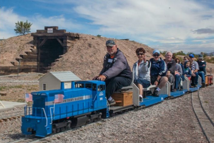 Nevada Southern Live Steamers Back on the Tracks