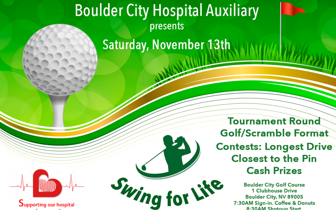 Swing For Life Golf Tournament – Boulder City Hospital Auxiliary