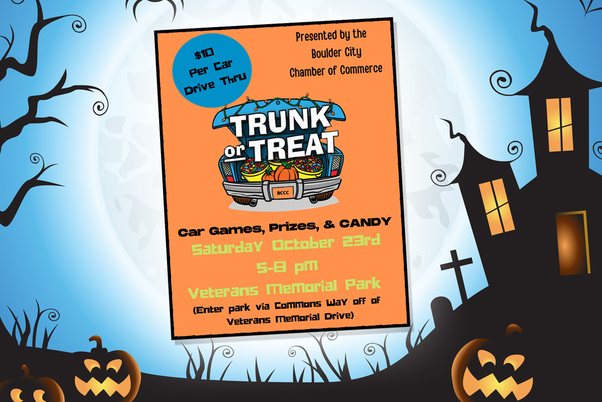 Trunk Or Treat Event Ad Boulder City, Nevada